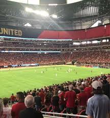 Atl Utd Seating Chart Photos Of The Atlanta United At Mercedes Benz Stadium