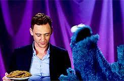 cookie monster tom hiddleston gif. Exellent Cookie Tempus Aeterna Throughout Cookie Monster Tom Hiddleston Gif