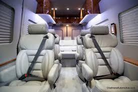 vans 4. mercedes benz sprinter 9 passenger luxury custom van-vip executive designed conversion vans 4