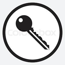 black house key. Stock Vector Of \u0027Key Icon Monochrome Black White. Car Keys, House Key
