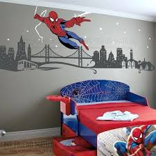 boys wall decal themed room spider man removable decals stickers by my friend toddlers kids design wall stickers