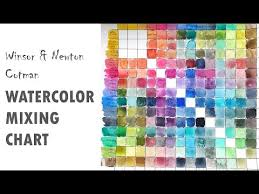 Making A Watercolor Mixing Chart And What I Learned By