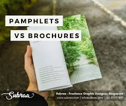 Pamphlet And Brochure Learn The Differences Between Pamphlet Brochure And Its