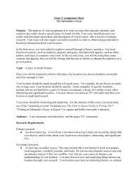 Example Informative Essay Format Thebridgesummit Us History Unit ...