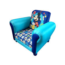 childrens mickey mouse cartoon kids armchair childs upholstered