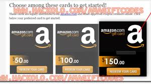 get free amazon gift codes