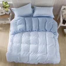 bedding set brief style stripe duvet cover set bed linen bedclothes 3or 4pcs set