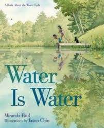 water earth s most precious resource school library journal two siblings explore the outdoors throughout the seasons to discover that water is water roaring brook 2015 k gr 4 unless it changes form