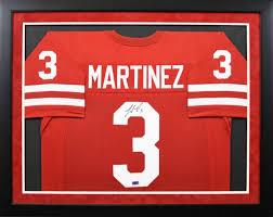 Taylor Martinez Autographed Nebraska Cornhuskers #3 Framed Jersey