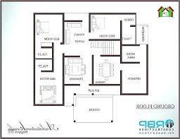 3 bedroom bungalow floor plans house in beautiful three 5