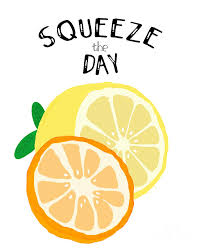 Squeeze the Day Digital Art by Priscilla Wolfe