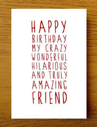 Friend Birthday Quotes Classy Sweet Description Happy Birthday Friend Card Card For Friend