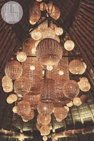 japanese outdoor lighting. Awesome Wicker Basket Lighting Mukul Resort, Nicaragua. Japanese Outdoor