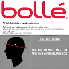 Bolle Ski Goggles Size Chart Bolle Size Guide