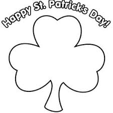 Small Picture Happy St Patricks Day Say Mr Shamrock Coloring Page Color Luna