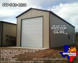 rv garage metal garage