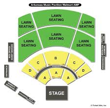 Walmart Amp Rogers Ar Seating Chart Walmart Arkansas Music Pavilion Rogers Ar Seating Chart View