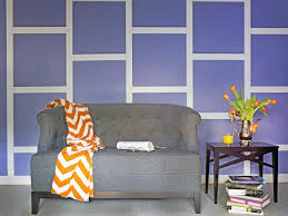 Image of: Geometric Wall Design