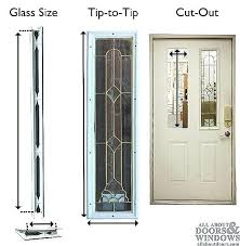 french door glass insert replacement patio medium size of inserts for garage window