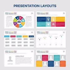 presentation template designs elements of infographics for presentations templates leaflet