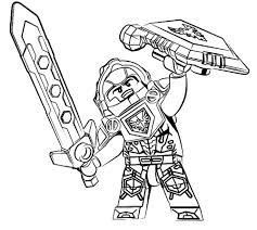 Small Picture Nexo Knights coloring pages