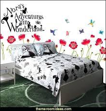 Alice In Wonderland Bedroom Decor In Wonderland Bedding In Wonderland  Bedroom Decorating Alice Wonderland Bedroom Decor .