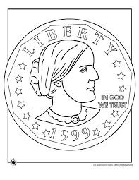 Small Picture Susan B Anthony Coin Coloring Page Woo Jr Kids Activities