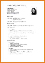 How To Make A Cv For Job 15 Make Resume For Job Sopexample