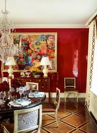 The Glam Pad A Posh Park Avenue Duplex by Ashley Whittaker The lacquered  walls