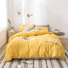 How to make my bed like a hotel. 3d Ears Bedding Sets Classic Simple Solid Color Duvet Cover Pillowcase Sheets Kids Bedding Sets Single Double King Gray Comforter Sets Queen Full Comforter Set From Bdhome 50 12 Dhgate Com