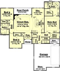 1900 sq foot ranch house plans home deco adorable 1800 square style