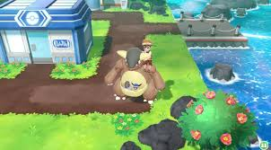 riding some pokemon is super cool and cute in pokemon let s go nintendosoup
