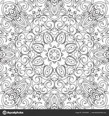 Mandala Kleurplaten Bloemen Archidev Mandala Bloem Kleurplaat In