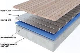 ... Under Floor Heating Mat On Electric Underfloor Insulation Boards 6mm  For 9 ...