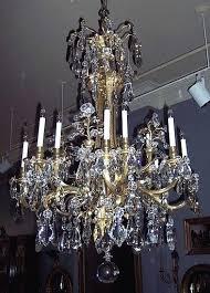 vintage crystal chandelier for lighting