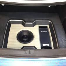 17 best images about car trunk cars audi a3 and sweet and very clean install in to this 2013 volkswagen cc dynaudio esotar subwoofer