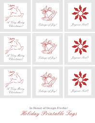 TUTORIAL How To Make Holiday Gift Tags With Avery Labels With Christmas Gift Tag Design