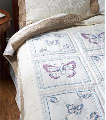 Bucilla Butterfly Quilt Blocks - Stamped Cross Stitch Kit 46067 ... & Butterfly Quilt Blocks - Stamped Cross Stitch Kit Adamdwight.com