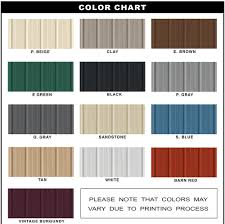 Metal Building Color Schemes and Combinations