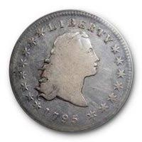 Flowing Hair Dollar 1794 1795 Values Pcgs Price Guide