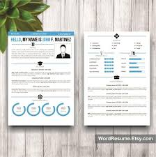Ms Word Creative Resume Template Youtube