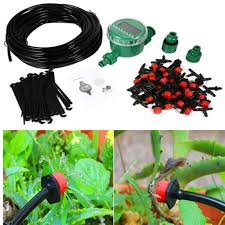 best 15m garden diy automatic watering micro drip irrigation system garden self watering kits with adjule dripper bh08 under 111 02 dhgate com