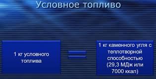 Условное топливо Энциклопедия портала ru Проще говоря условное топливо это определение количества энергии в заданном виде топлива slide 29