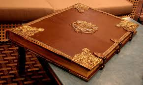 old leather book locked closed by barefootliam stock