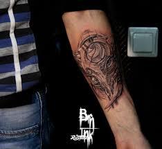 бык значение татуировок в ростове на дону Rustattooru