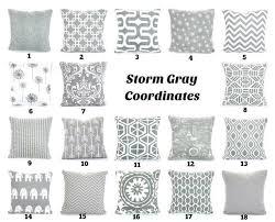 gray throw pillow covers grey white