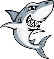 smiling shark clipart. Plain Smiling Cartoon Smiling Shark For Mascot And Emblem Design  Stock Vector  Colourbox And Smiling Shark Clipart M