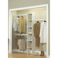 inspirational closetmaid 12 in white custom closet organizer 7033 the home depot