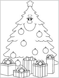 Printable Christmas Tree Free Printable Christmas Tree Coloring Sheets Allurepaper Co