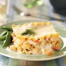 Gourmet seafood lasagna recipe
